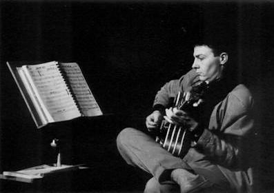 Antonio Koudele musician Portrait